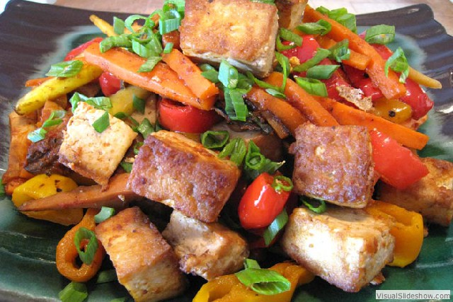 Tofu Stir Fried